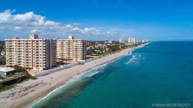 4505 S Ocean Blvd #104, Highland Beach, FL 33487 (MLS #A11031106) :: The Teri Arbogast Team at Keller Williams Partners SW
