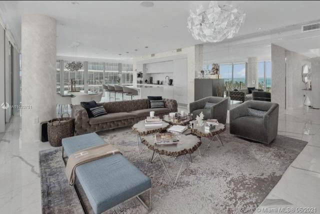 1 Collins Ave #607, Miami Beach, FL 33139 (#A11033701) :: Posh Properties