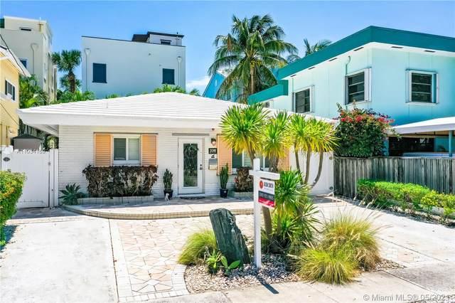 338 Oak St, Hollywood, FL 33019 (MLS #A11034169) :: The Rose Harris Group