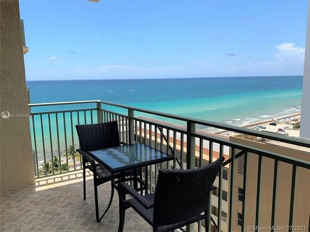 2080 S Ocean Drive #1205, Hallandale Beach, FL 33009 (#A11034407) :: Dalton Wade