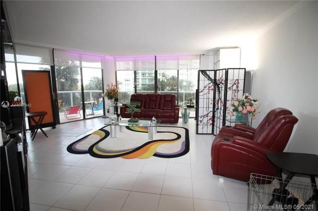 20281 E Country Club Dr #208, Aventura, FL 33180 (MLS #A11037942) :: Dalton Wade Real Estate Group