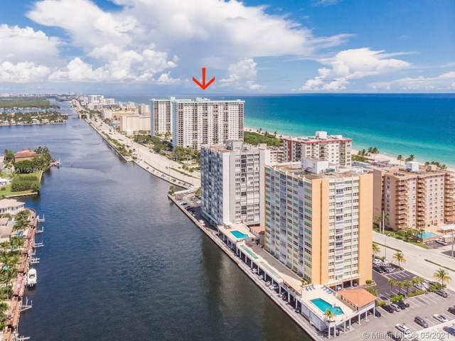 1201 S Ocean Dr 316S, Hollywood, FL 33019 (#A11039415) :: Posh Properties