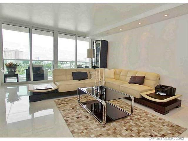 100 Bayview Dr #701, Sunny Isles Beach, FL 33160 (#A11049538) :: Posh Properties
