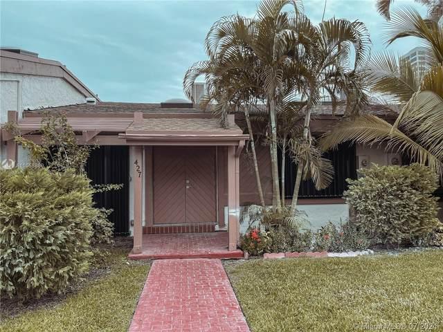 427 Leslie Dr #427, Hallandale Beach, FL 33009 (MLS #A11058889) :: Castelli Real Estate Services