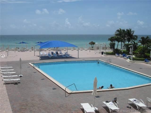 3180 S Ocean Dr #214, Hallandale Beach, FL 33009 (MLS #A11060636) :: Green Realty Properties
