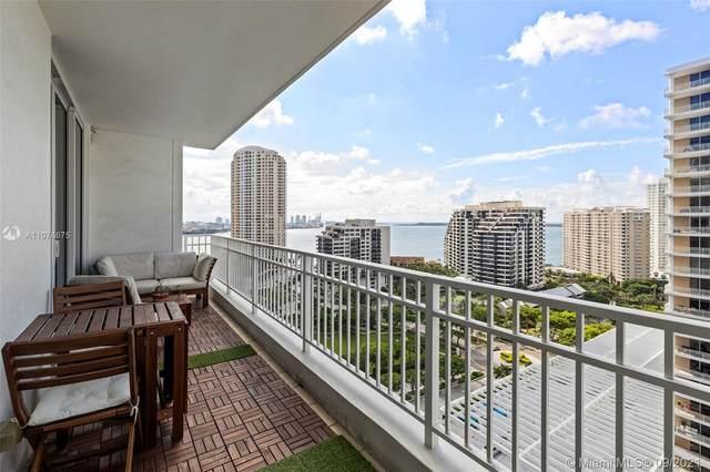 801 Brickell Key Blvd #1909, Miami, FL 33131 (MLS #A11076675) :: GK Realty Group LLC