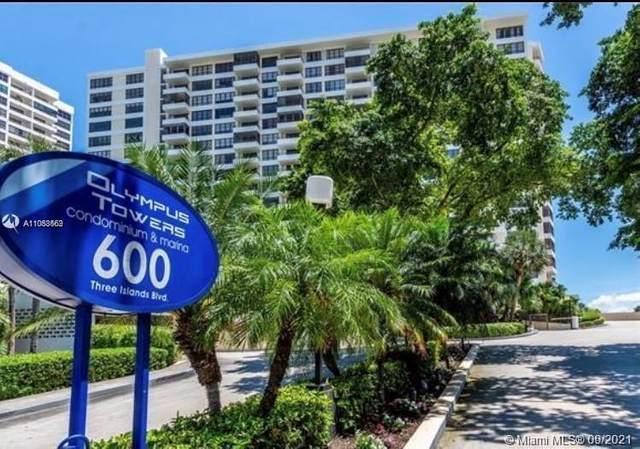 600 Three Islands Blvd #1611, Hallandale Beach, FL 33009 (MLS #A11088562) :: Castelli Real Estate Services