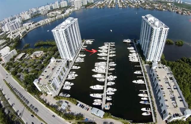 17101 Biscayne Blvd Slip 079, North Miami Beach, FL 33160 (MLS #A11094562) :: Castelli Real Estate Services