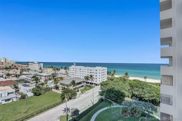 1201 S Ocean Dr 904N, Hollywood, FL 33019 (MLS #A11098735) :: The Rose Harris Group