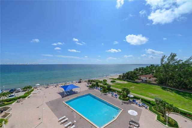 3180 S Ocean Dr #612, Hallandale Beach, FL 33009 (MLS #A11108037) :: Berkshire Hathaway HomeServices EWM Realty