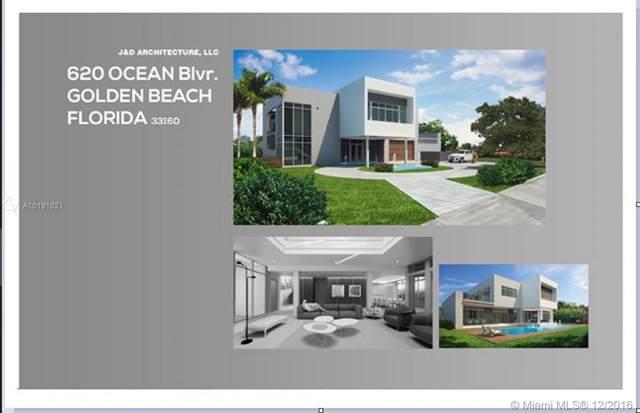 620 Ocean Blvd, Golden Beach, FL 33160 (MLS #A10191821) :: GK Realty Group LLC