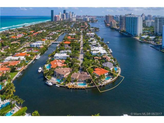 447 Center Island Dr, Golden Beach, FL 33160 (MLS #A10279620) :: Green Realty Properties