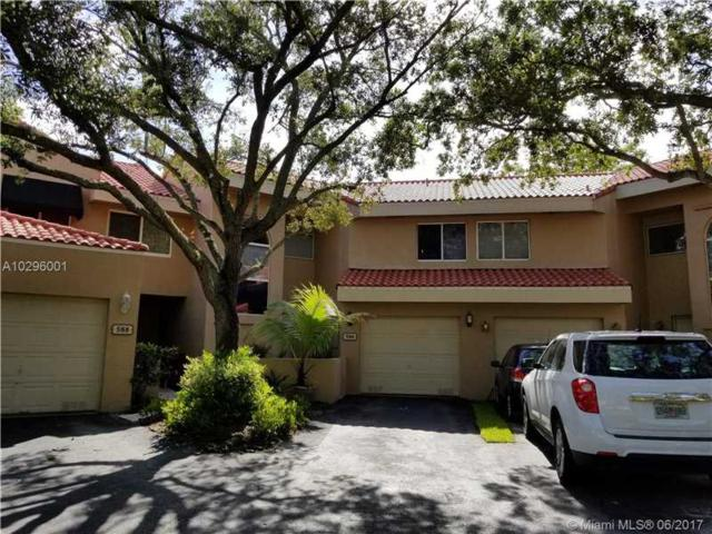 586 N University Drive #586, Plantation, FL 33324 (MLS #A10296001) :: Green Realty Properties