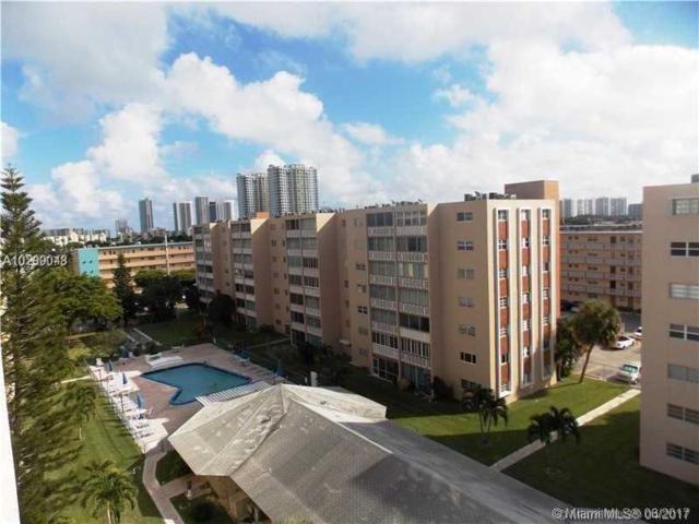 320 NE 12 Ave #702, Hallandale, FL 33009 (MLS #A10299048) :: The Chenore Real Estate Group