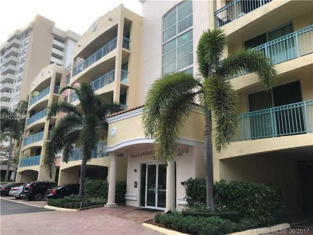 201 Golden Isles Dr #408, Hallandale, FL 33009 (MLS #A10299612) :: The Chenore Real Estate Group