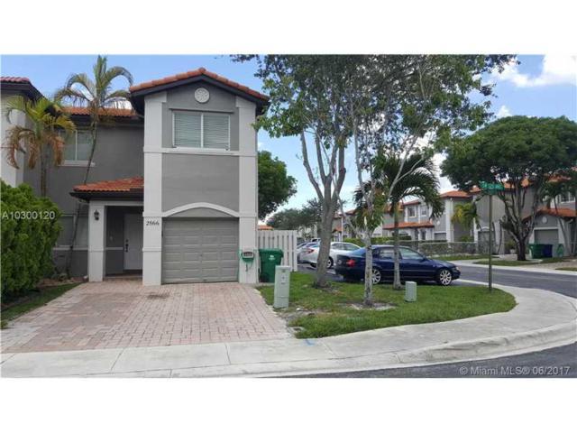 2866 SW 125th Ave #2866, Miramar, FL 33027 (MLS #A10300120) :: Christopher Tello PA