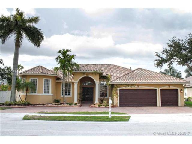 13710 NW 18th St, Pembroke Pines, FL 33028 (MLS #A10300774) :: Christopher Tello PA