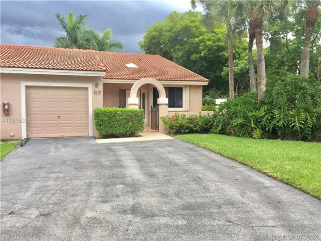 16684 Greens Edge Cir #57, Weston, FL 33326 (MLS #A10315035) :: Green Realty Properties