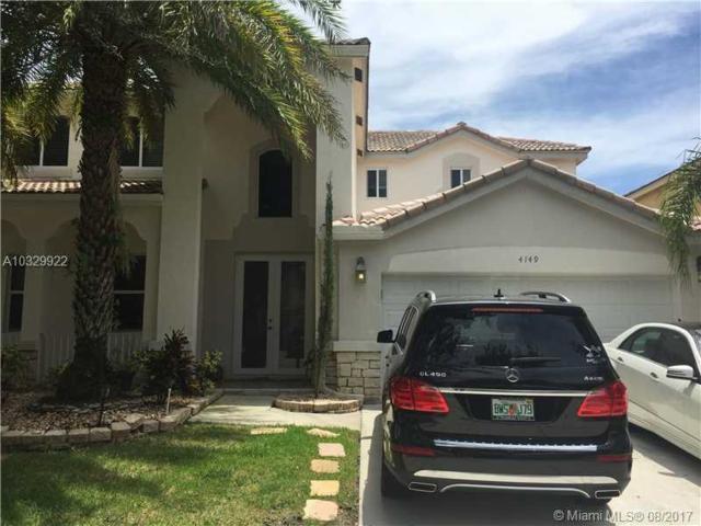 4149 Pinewood Ln, Weston, FL 33331 (MLS #A10329922) :: The Teri Arbogast Team at Keller Williams Partners SW
