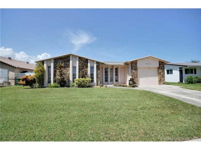 415 SE 5th St, Dania Beach, FL 33004 (MLS #A10336772) :: Green Realty Properties