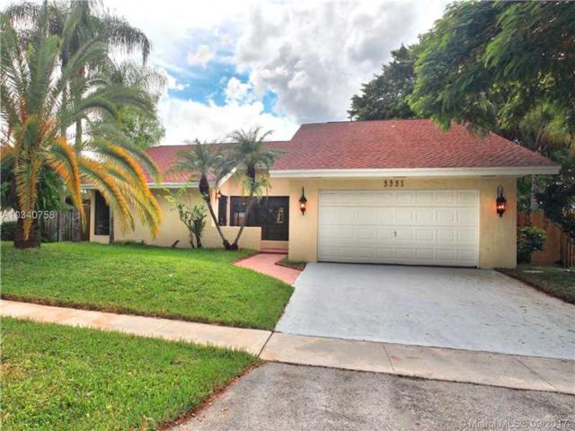 3331 NW 97th Ave, Sunrise, FL 33351 (MLS #A10340758) :: Stanley Rosen Group