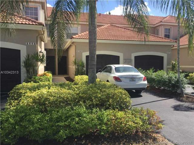 1561 Sorrento Dr #1561, Weston, FL 33326 (MLS #A10342313) :: Castelli Real Estate Services