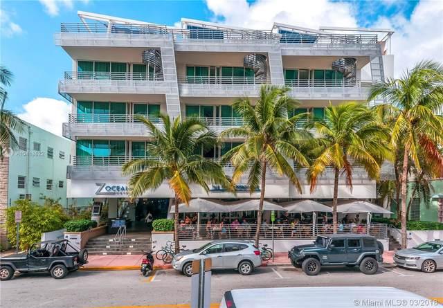 1437 Collins Ave #301, Miami Beach, FL 33139 (MLS #A10418622) :: Patty Accorto Team