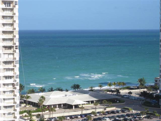 1945 S Ocean Dr #1205, Hallandale, FL 33009 (MLS #A10432342) :: The Teri Arbogast Team at Keller Williams Partners SW