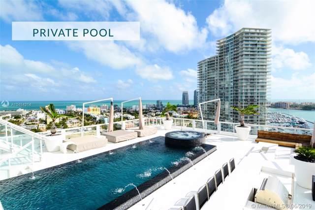 520 West Ave Ph-B, Miami Beach, FL 33139 (MLS #A10454314) :: Green Realty Properties