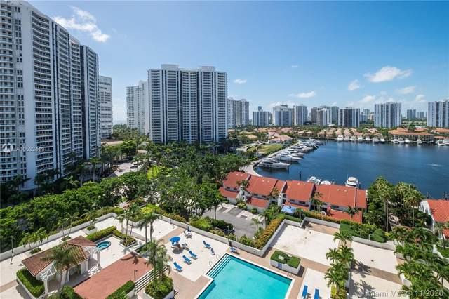 3640 Yacht Club Dr #1408, Aventura, FL 33180 (MLS #A10532419) :: Berkshire Hathaway HomeServices EWM Realty