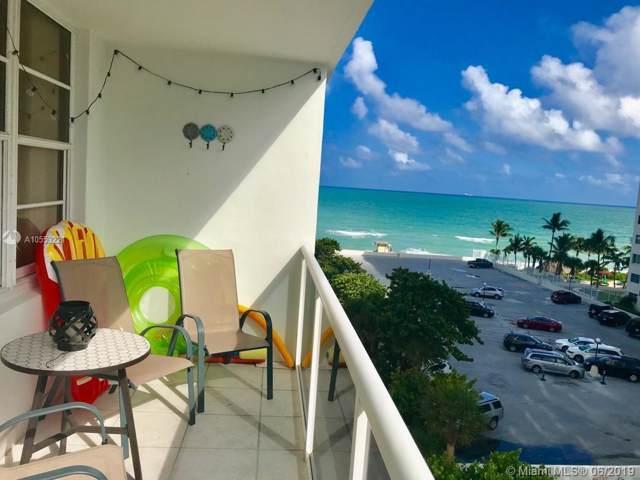 3725 S Ocean Dr #620, Hollywood, FL 33019 (MLS #A10553221) :: Berkshire Hathaway HomeServices EWM Realty