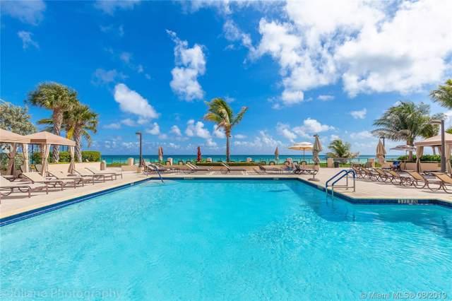 1920 S Ocean Dr 19D, Hallandale, FL 33009 (MLS #A10564788) :: Berkshire Hathaway HomeServices EWM Realty