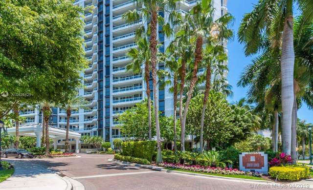 21055 Yacht Club Dr 2106 + Studio R, Aventura, FL 33180 (MLS #A10626425) :: Green Realty Properties