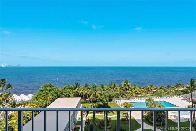 881 Ocean Dr 7G, Key Biscayne, FL 33149 (MLS #A10672495) :: Castelli Real Estate Services