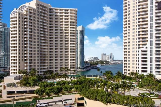 540 Brickell Key Dr #1200, Miami, FL 33131 (MLS #A10688383) :: Carole Smith Real Estate Team