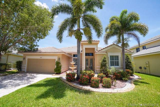 1251 Skylark Dr, Weston, FL 33327 (MLS #A10698602) :: Green Realty Properties