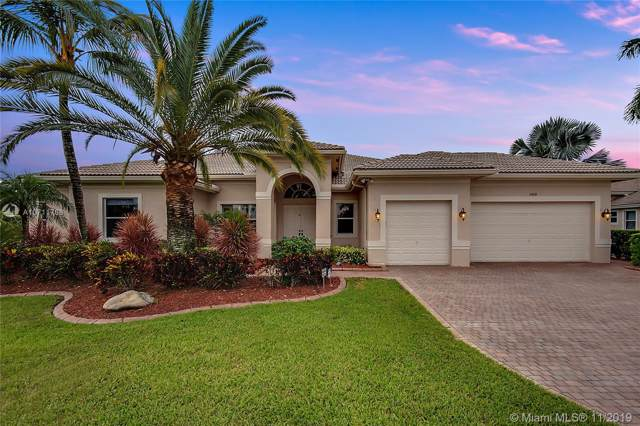 14818 SW 38th St, Davie, FL 33331 (MLS #A10711768) :: Grove Properties