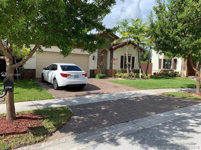 2706 NE 1st St, Homestead, FL 33033 (MLS #A10716885) :: Green Realty Properties