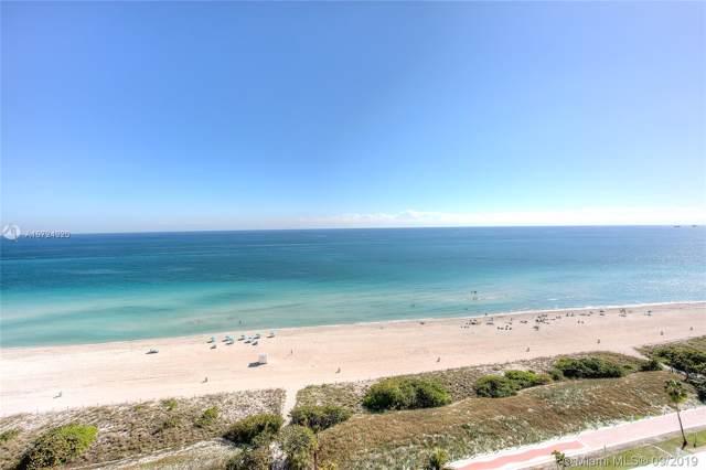 5701 Collins Ave #1012, Miami Beach, FL 33140 (MLS #A10724320) :: Patty Accorto Team
