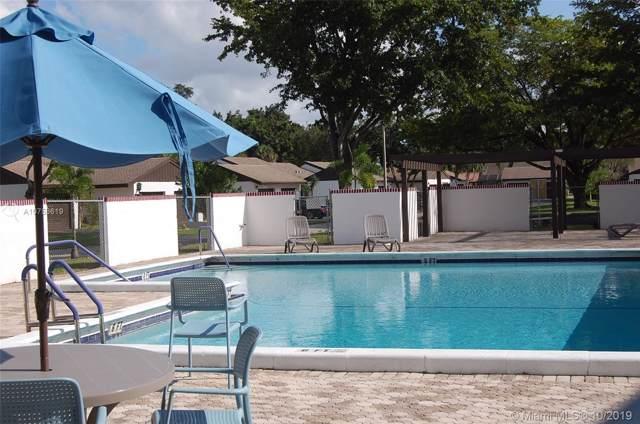 6324 Wedgewood Ter C9, Tamarac, FL 33321 (MLS #A10753619) :: Castelli Real Estate Services