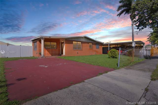 18820 NW 44th Ct, Miami Gardens, FL 33055 (MLS #A10764057) :: Berkshire Hathaway HomeServices EWM Realty