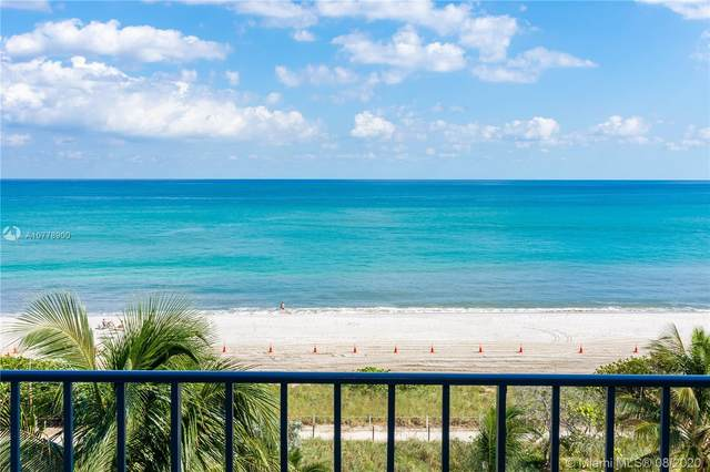 8877 Collins Ave #610, Surfside, FL 33154 (MLS #A10778900) :: The Pearl Realty Group