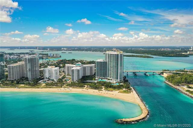 10275 Collins Ave #1412, Bal Harbour, FL 33154 (MLS #A10784474) :: Patty Accorto Team
