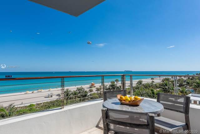 3651 Collins Ave #600, Miami Beach, FL 33140 (MLS #A10796711) :: The Teri Arbogast Team at Keller Williams Partners SW
