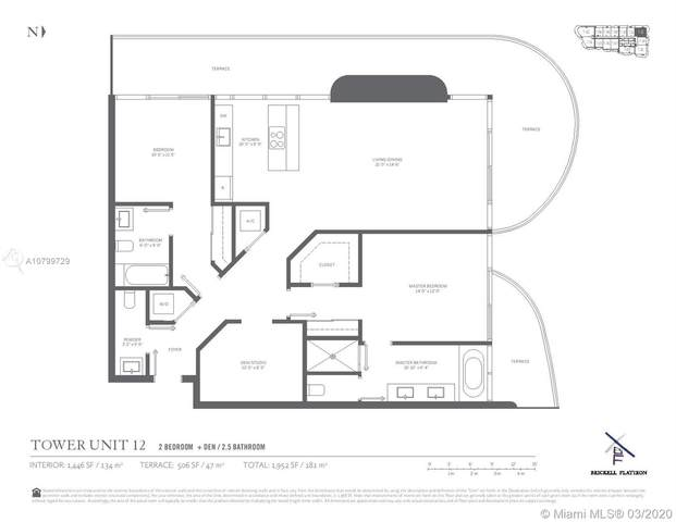 1000 Brickell Plaza #3212, Miami, FL 33131 (MLS #A10799729) :: The Rose Harris Group