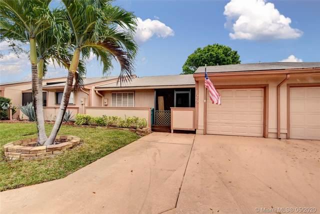 126 Mayfair Ln, Boynton Beach, FL 33426 (MLS #A10804639) :: Green Realty Properties