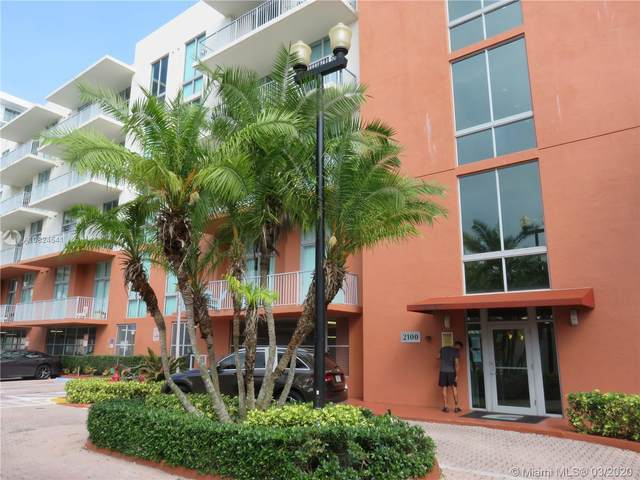 2100 Van Buren St #202, Hollywood, FL 33020 (MLS #A10824541) :: Ray De Leon with One Sotheby's International Realty