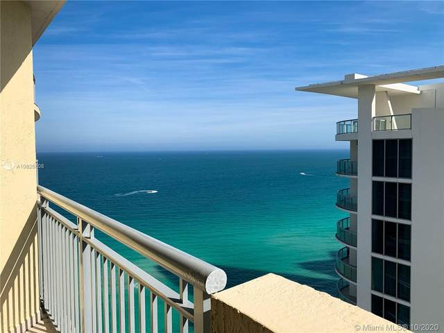 17375 Collins Ave #2503, Sunny Isles Beach, FL 33160 (MLS #A10826508) :: Berkshire Hathaway HomeServices EWM Realty