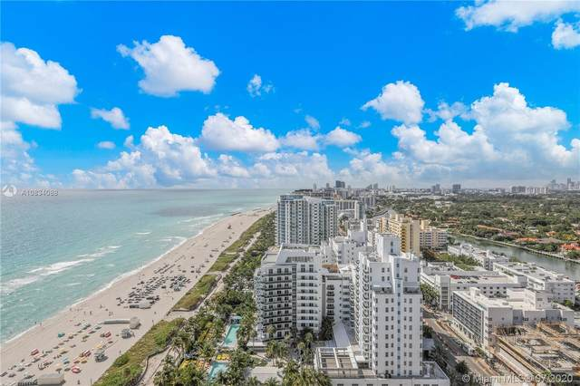 4201 Collins Ave #2501, Miami Beach, FL 33140 (MLS #A10834088) :: Ray De Leon with One Sotheby's International Realty