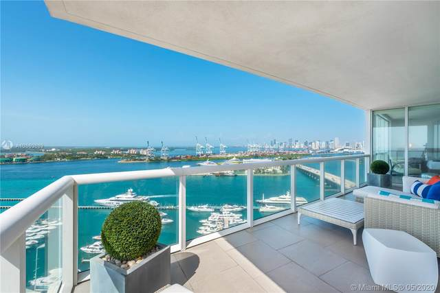 450 Alton Rd #2407, Miami Beach, FL 33139 (MLS #A10860889) :: Julian Johnston Team